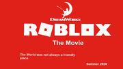 ROBLOX THE MOVIE LOGO (updated) Jadhostgamer072's idea