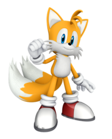Miles Tails Prower Sonic and All-Stars Racing Transformed