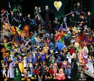 Kingdom hearts collage by holydemons-d6wfwax
