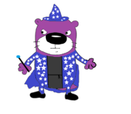 Pan the Wizard Otter