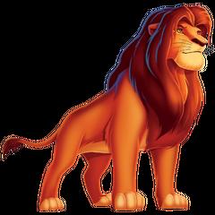 Adult Simba as Leon