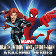 Black Widow and Spider-Man poster
