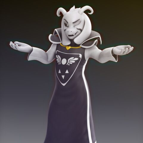 Promotional picture of Asriel.