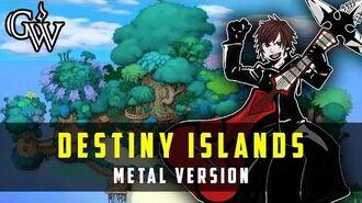 KINGDOM HEARTS METAL ► Destiny Islands Guitar Cover