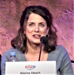 Alanna Ubach on Dulce Osuna
