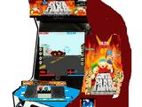 South Park: Bigger, Longer & Uncut (1999 Rail Shooter Arcade game)