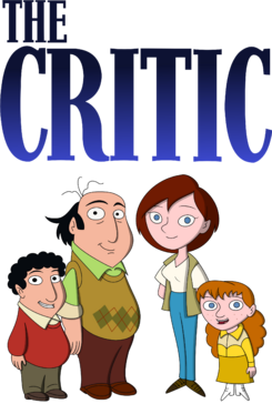 The Critic title and main characters