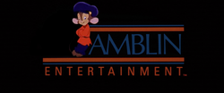 Amblin Entertainment logo (Fievel variant)