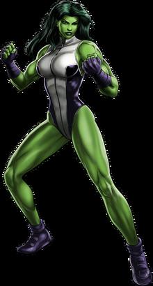 She-Hulk Full Artwork
