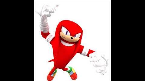 Sonic Boom Video Game - Knuckles The Echidna Unused Voice Clips