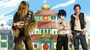 Han and Chewie's Fairy Tail friend (Fairy Tail arc to Phantom arc)