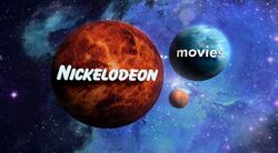 Nickelodeon Movies outerspace variant 2001-2004