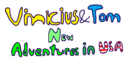 Vinicius And Tom New Adventures In USA Logo