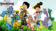 Kingdom hearts- Dragon Land