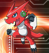 Shoutmon from ´´ Digimon Fusion ´´