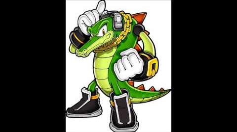 Sonic Party Wii U - Vector The Crocodile Voice