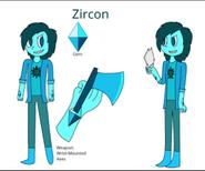 Azure Zircon