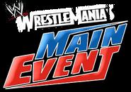 WrestleMania's Main Event Logo