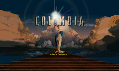 Columbia Pictures Open Matte Logo 2018