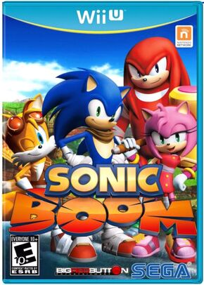 Sonic boom wii u logo