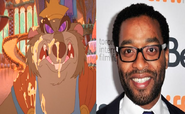 Chiwetel Ejiofor as The Mouseking in The Nutcracker Prince (2020 live action remake)