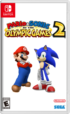 Mario & Sonic at the Olympic Games 2 Boxart