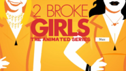 Two Broke Girls animated opening credits