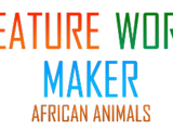 Creature World Maker Expansion Pack: African Animals