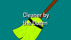 Cleaner by the Dozen title card