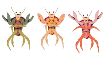 Crab-people