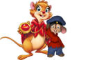 Fievel and Mrs. Brisby