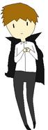 Kyle as a vampire