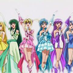 6 girls together