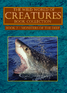 Book 2 - Monsters of the Deep Book Cover