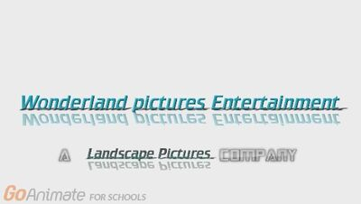 Wonderland Pictures Entertainment Closing Logo
