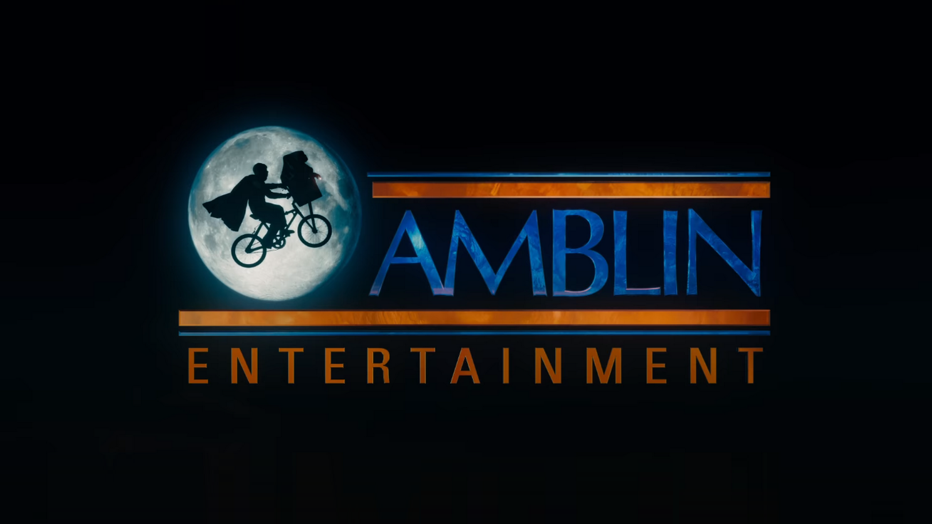 Amblin entertainment logo 2016