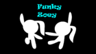 Funky Zoey title card