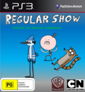 Regular Show Across The Second Dimension Cover PS3