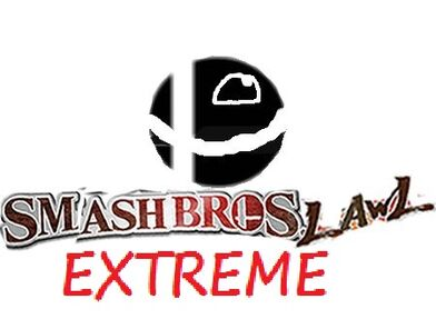 Super smash bros lawl extreme logo by cartoonfanboyone-d5g2q11