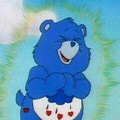 Grumpy Bear as The Grumpy Old Troll