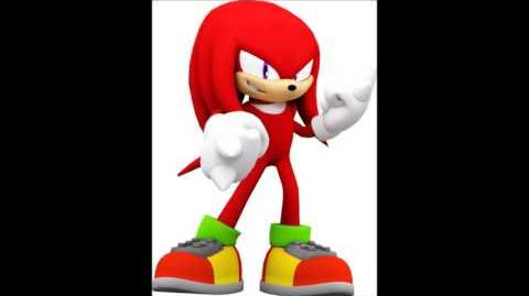 Sonic Adventure - Knuckles The Echidna Voice