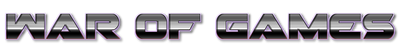 War of Games logo