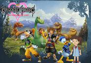 Kingdom hearts- the good dinosaur