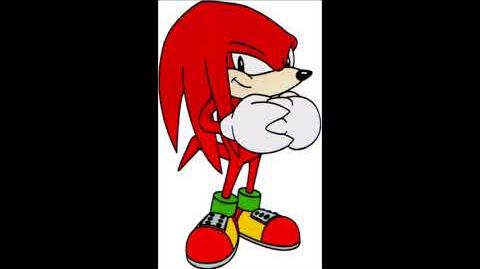 Adventures Of Sonic The Hedgehog Video Game - Knuckles The Echidna Voice
