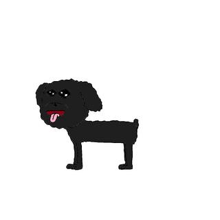 Charlemagne (dog form).