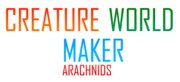 Creature World Maker Arachnids Logo