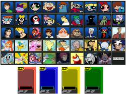 Cartoon Network Punch Time Explosion XL Idea Menu
