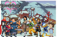 Kingdom hearts- land of the dragons