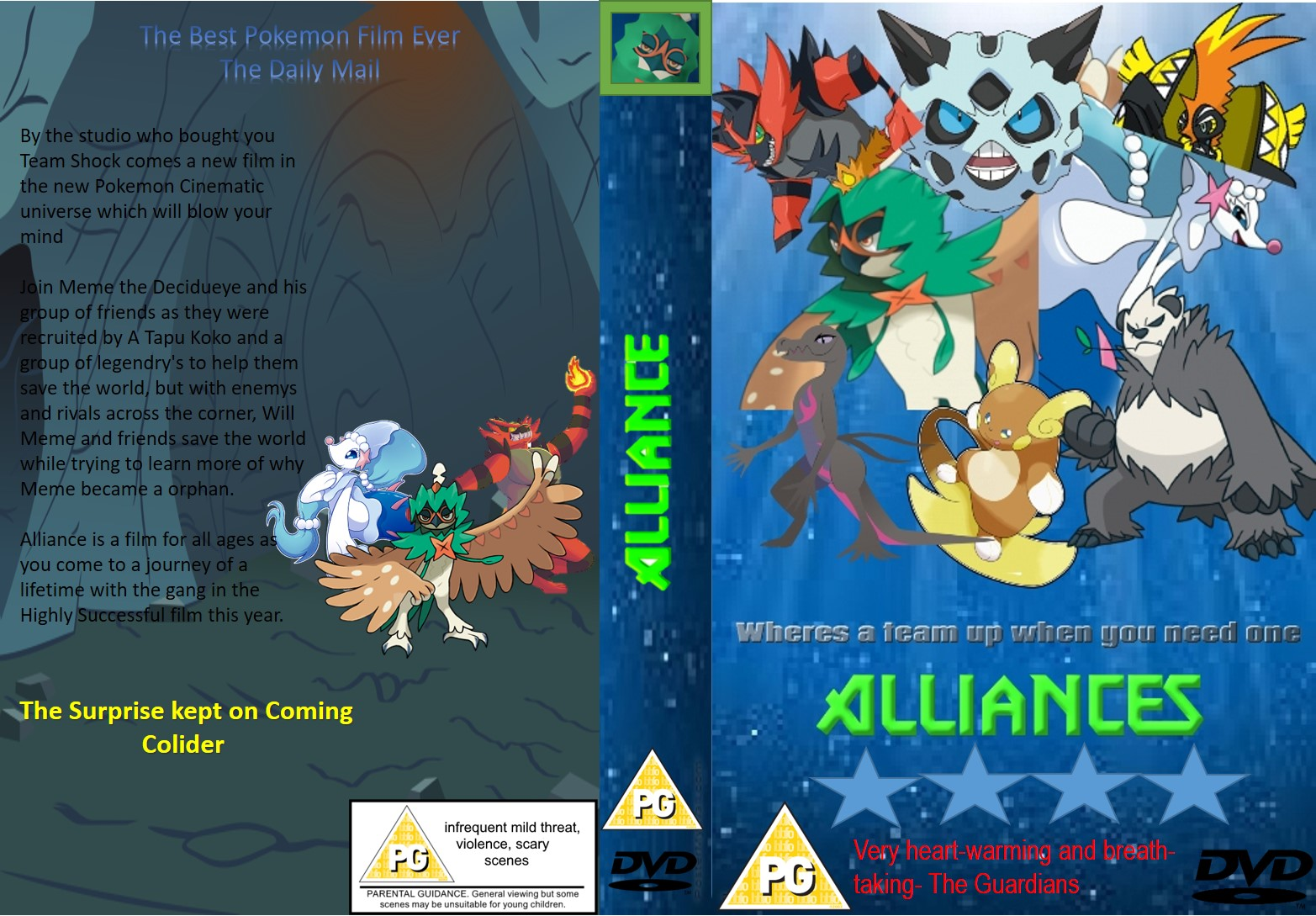Alliance DVD Case