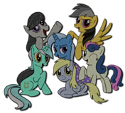 Mane 6 march 2012 by katarakta4-d5kr6uk